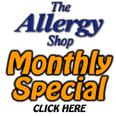 The Allergy Shop's Monthly Special
